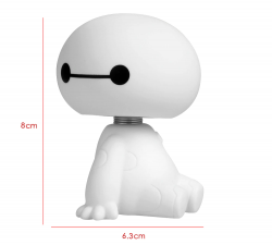 Baymax - Figura Colecionável  Bobble Head Disney
