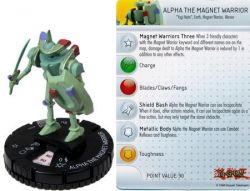 Alpha The Magnet Warrior #014  - Heroclix Miniatura Yu-Gi-Oh! (Série 2)