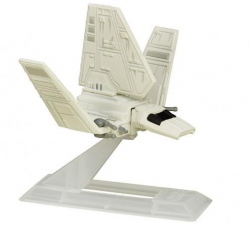 Nave Imperial Shuttle- Mini Veículo Star Wars - The Titanium Series