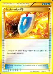 Explorador VS / VS Seeker (110/108) - Carta Avulsa Pokemon