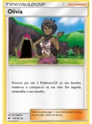 Olivia (119/147) - Carta Avulsa Pokemon