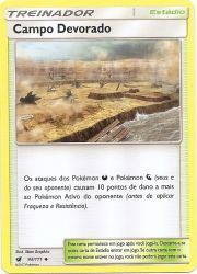 Campo Devorado / Devoured Field (93/111) - Carta Avulsa Pokemon