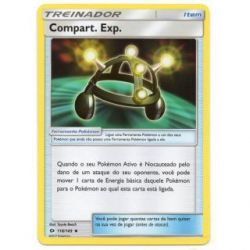 Compart. Exp. / Exp. Share (118/149) - Carta Avulsa Pokemon