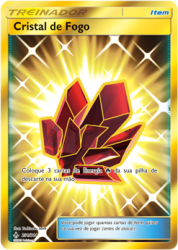 Cristal de Fogo / Fire Crystal (231/214) - Carta Avulsa Pokemon