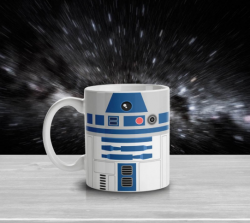 Caneca Geek Side Faces - R2D2