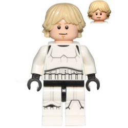 Luke Storm Trooper - Minifigura De Montar Star Wars