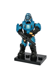 UNSC ODST Blue - Minifigura Halo Heroes Series