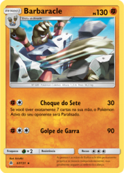 Barbaracle (67/131) - Carta Avulsa Pokemon