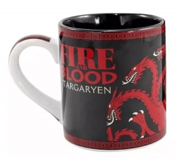 Caneca Fire and Blood - Game Of Thrones - House Targaryen