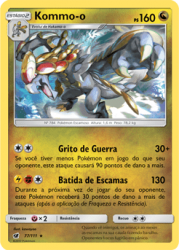 Kommo-o (77/111) -  Carta Avulsa Pokemon