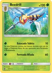 Beedrill (3/111) - Carta Avulsa Pokemon