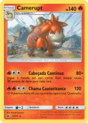 Camerupt (14/111) - Carta Avulsa Pokemon