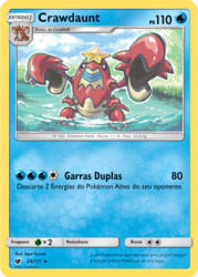 Crawdaunt (25/111) - Carta Avulsa Pokemon