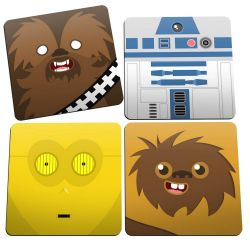 Porta Copos Geek Side Faces - Star Wars