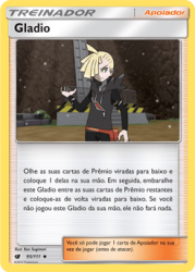 Gladio / Gladion (95/111) - Carta Avulsa Pokemon