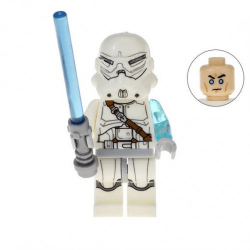 Jek-14 Clone Trooper Commander - Minifigura de Montar Star Wars