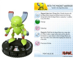 Beta The Magnet Warrior #015  - Heroclix Miniatura Yu-Gi-Oh! (Série 2)