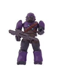 Covenant Brute Purple - Minifigura Halo Heroes MB Series