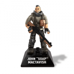"John ""Soap"" Mactavish - Minifigura Call of Duty Mega Construx"