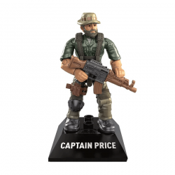 Captain Price - Minifigura Call of Duty Mega Construx