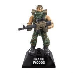 Frank Woods - Minifigura Call of Duty Mega Construx
