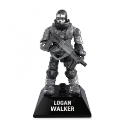 Logan Walker - Minifigura Call of Duty Mega Construx