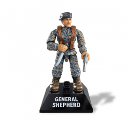 General Shepherd - Minifigura Call of Duty Mega Construx