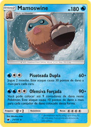 Mamoswine (21/111) - Carta Avulsa Pokemon
