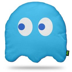 Almofada em Fibra Ghost (Blue) Dupla Face - Fantasma do Game Pac Man