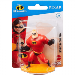 Sr. Incrível / Mr. Incredible (Os Incriveis) 7cm - Miniatura Colecionavel Disney Pixar
