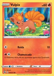 Vulpix (006/073) - Carta Avulsa Pokemon