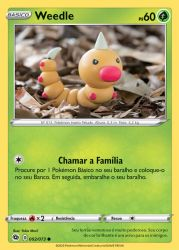 Weedle (002/073) - Carta Avulsa Pokemon
