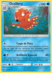 Octillery (23/111) - Carta Avulsa Pokemon