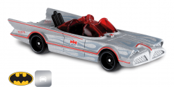Carro Colecionável Hot Wheels - The Batman Classic TV Series Batmobile (Cinza)™