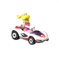 Peach P-Wing / Mario Kart - Carro Colecionável Hot Wheels  (6cm)