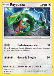Rayquaza (106/145) - Carta Avulsa Pokemon