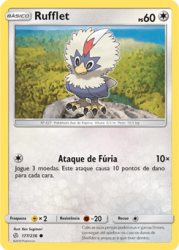 Rufflet (177/236) - Carta Avulsa Pokemon