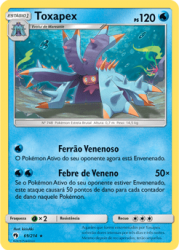 Toxapex (69/214)  - Carta Avulsa Pokemon